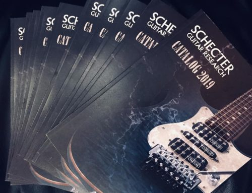 SCHECTER 2019 NEWカタログ入荷