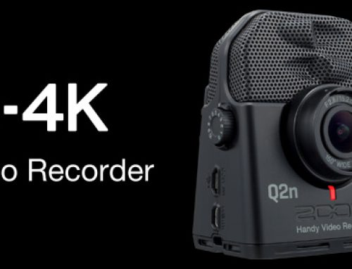 スタジオモニターTV設置 & ZOOMビデオレコーダー無料貸出のお知らせ