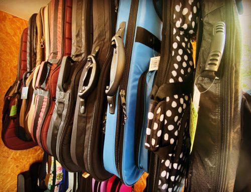 楽器のケース類、各種入荷してます♪